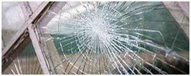 Richings Park Smashed Glass